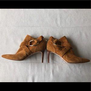 📦SOLD Rachel Zoe suede buckle booties
